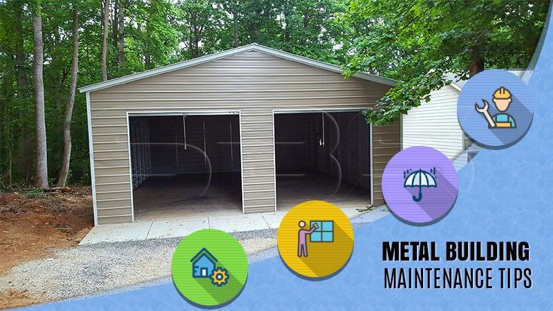 Metal Building Maintenance Tips