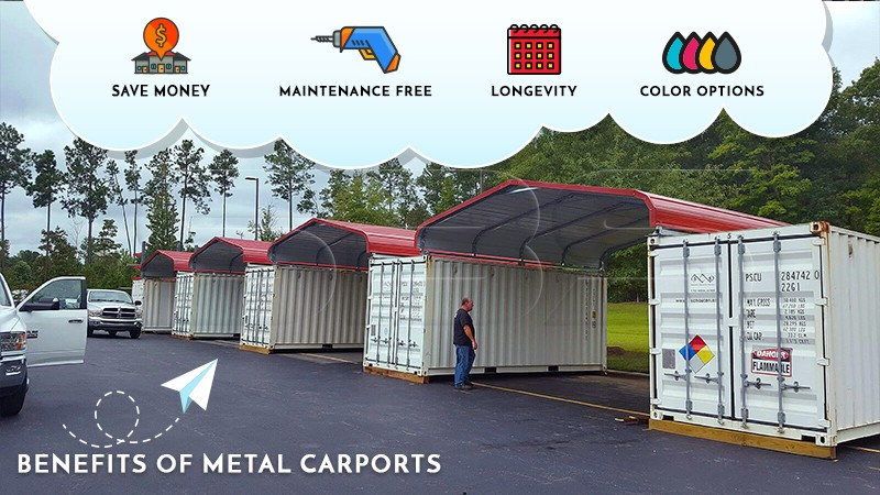 Benefits of Metal Carports