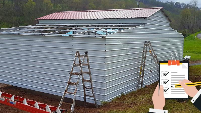 Metal Building Installation Checklist