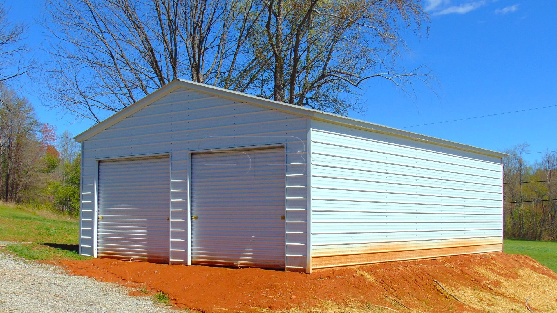 22'x36' Vertical Roof Garage Workshop
